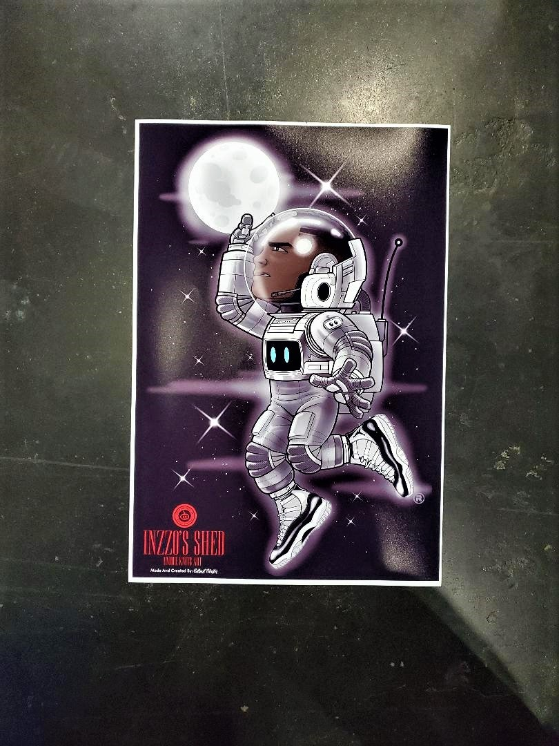 Image of Spaceman Poster 13x19