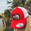Last Best Place Hat -Red/White