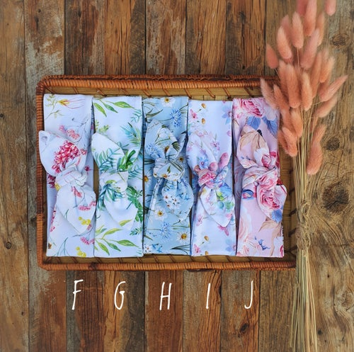 Image of Floral Stretch Headbands