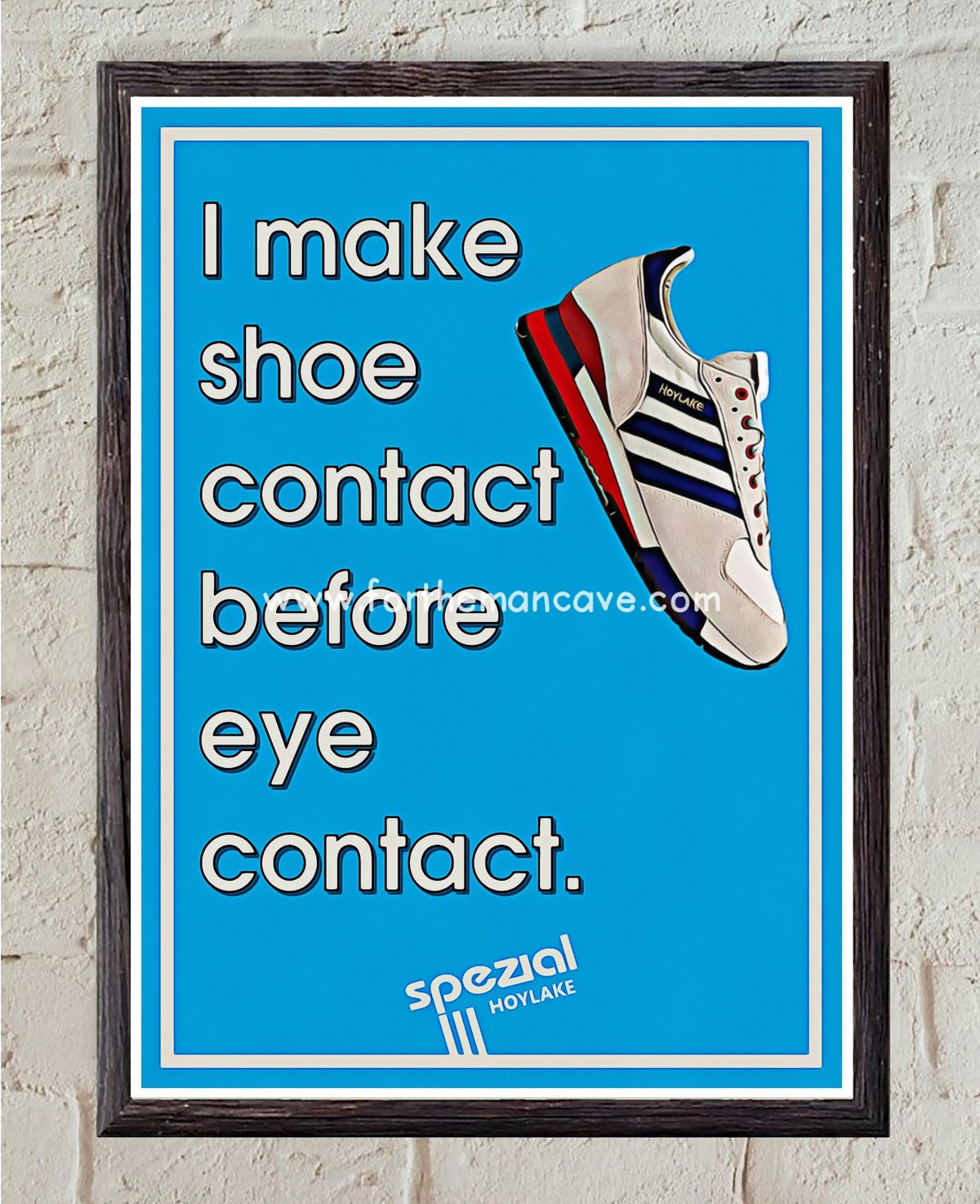 """Image of SPEZIAL HOYLAKE """"SHOE CONTACT FIRST"""" - PRINT"""