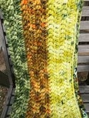 Cover Me with Sunshine Chunky Crocheted Woollen Blanket