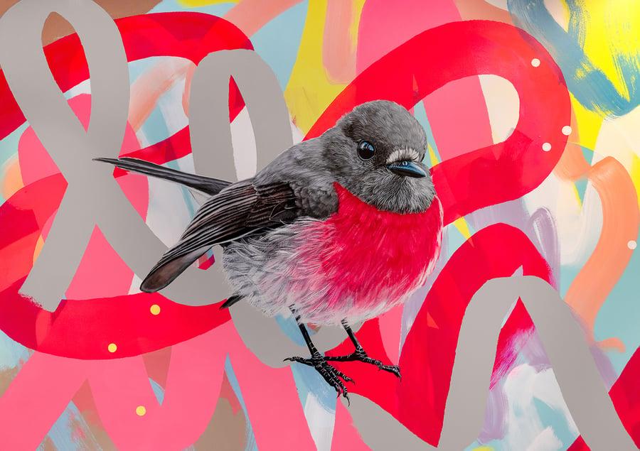 Image of JK Colab - Pink Robin