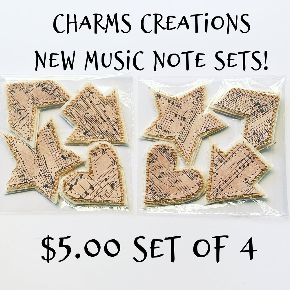Image of MADE TO ORDER NEW Music Note Sets