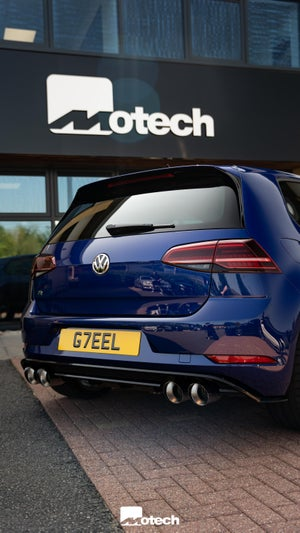 Image of VW Golf R MK7 / 7.5 Remus Exhaust also cars with GPF