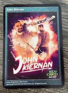 Image of John Kiernan: Raw Deal Indy Card Wrestler Card