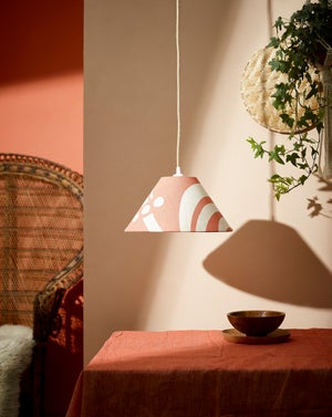 """Lampshade  12"""" -  Marshmallow in Linen"""