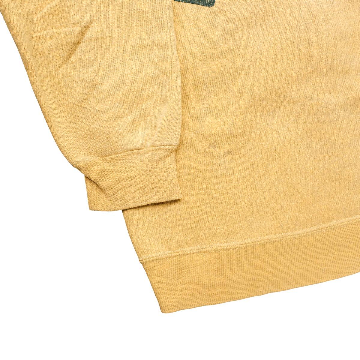 Image of Vintage 1960's Sunfaded Yellow Camp Tapawingo Sweatshirt