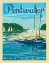 Pentwater Channel Print No. [101]