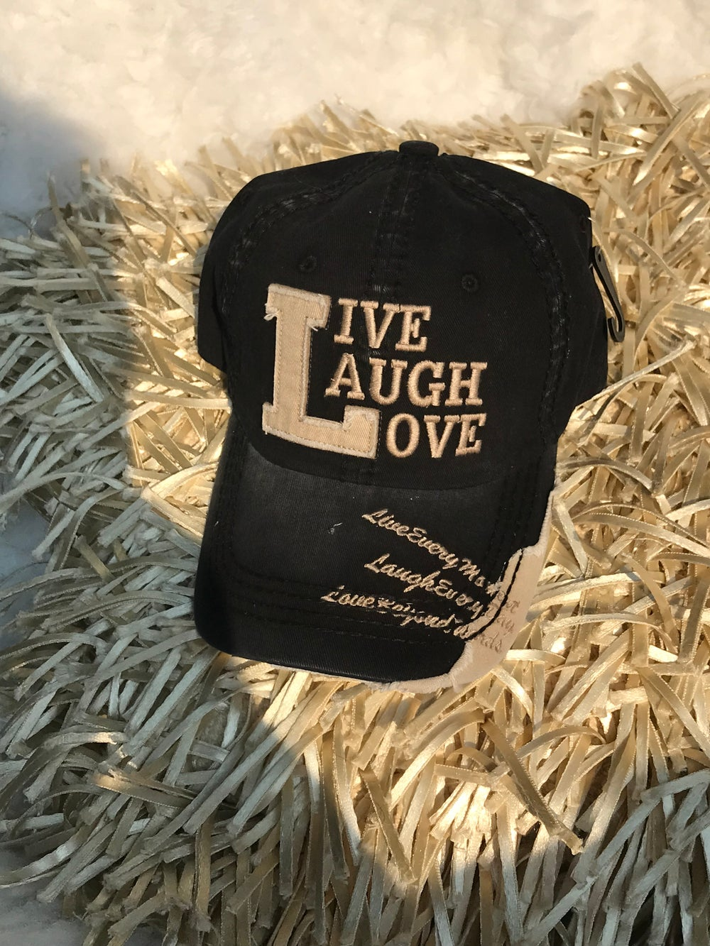 """Image of """"LIVE, LAUGH, LOVE"""" DISTRESSED"""