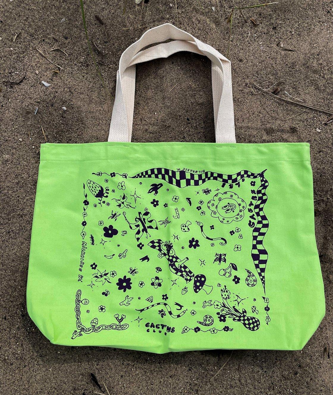 Image of Cactus Club x Tia Rose Woods XL Beach Bag
