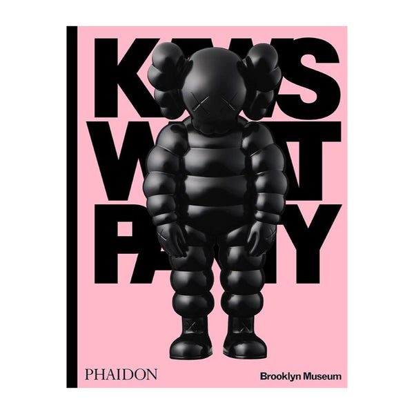 Image of Kaws What Party - Black on Pink