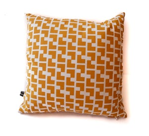 Image of L Design Pillow with Down insurts