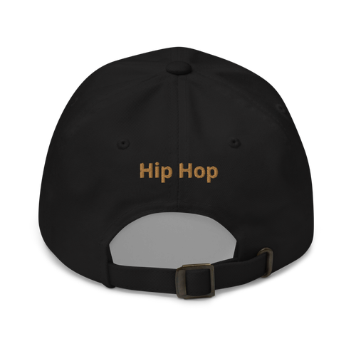 Image of CLASSIC DAD HAT - YUPOONG 6245CM WITH THE OFFICIAL HIP HOP MOVEMENT LOGO