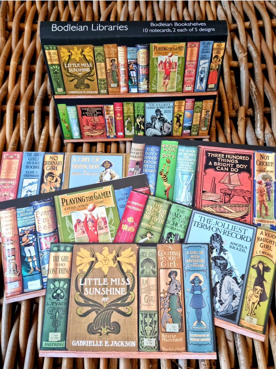 Image of Bodleian Libraries Boxed Cards