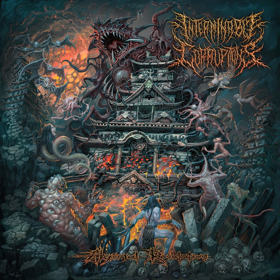 Image of Interminable Corruptions – Abysmal Revelation - Digipack