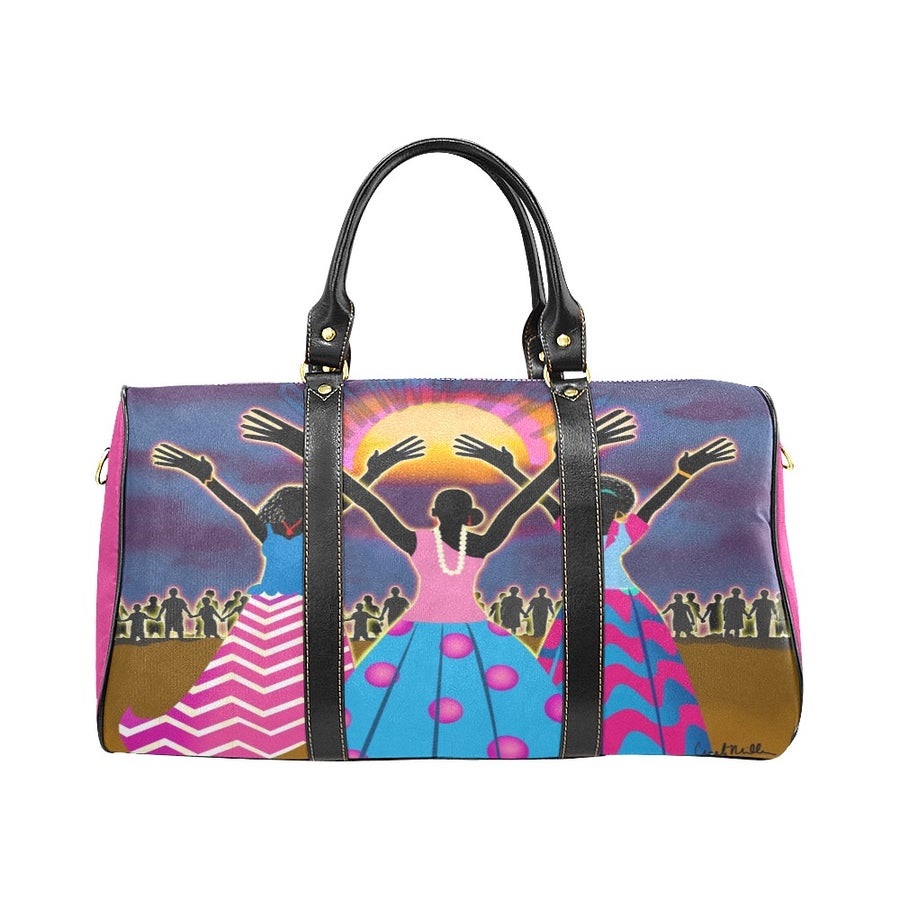 Image of Jack and Jill Reaching Out Duffle Bag