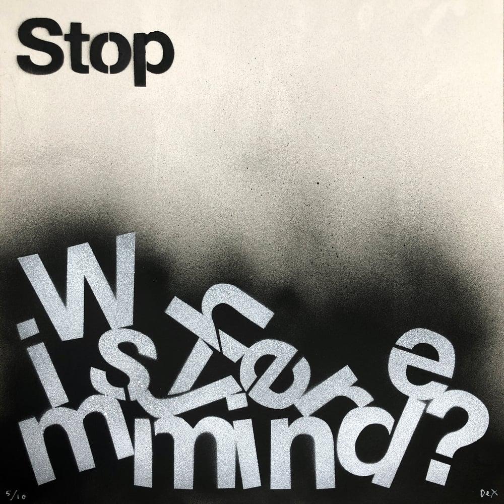 Where Is My Mind? (Stencil)