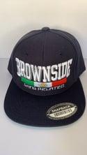 "Brownside - Gang Related ""Logo"" Snapback [Navy]"