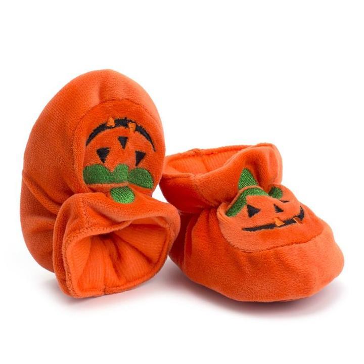 """Image of Little """"Pumpkin"""" Feet"""