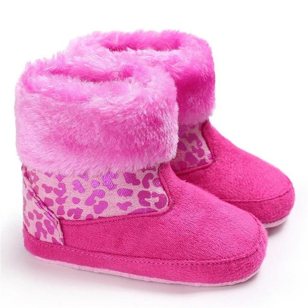 """Image of Furry """" Cheetah"""" Boots"""