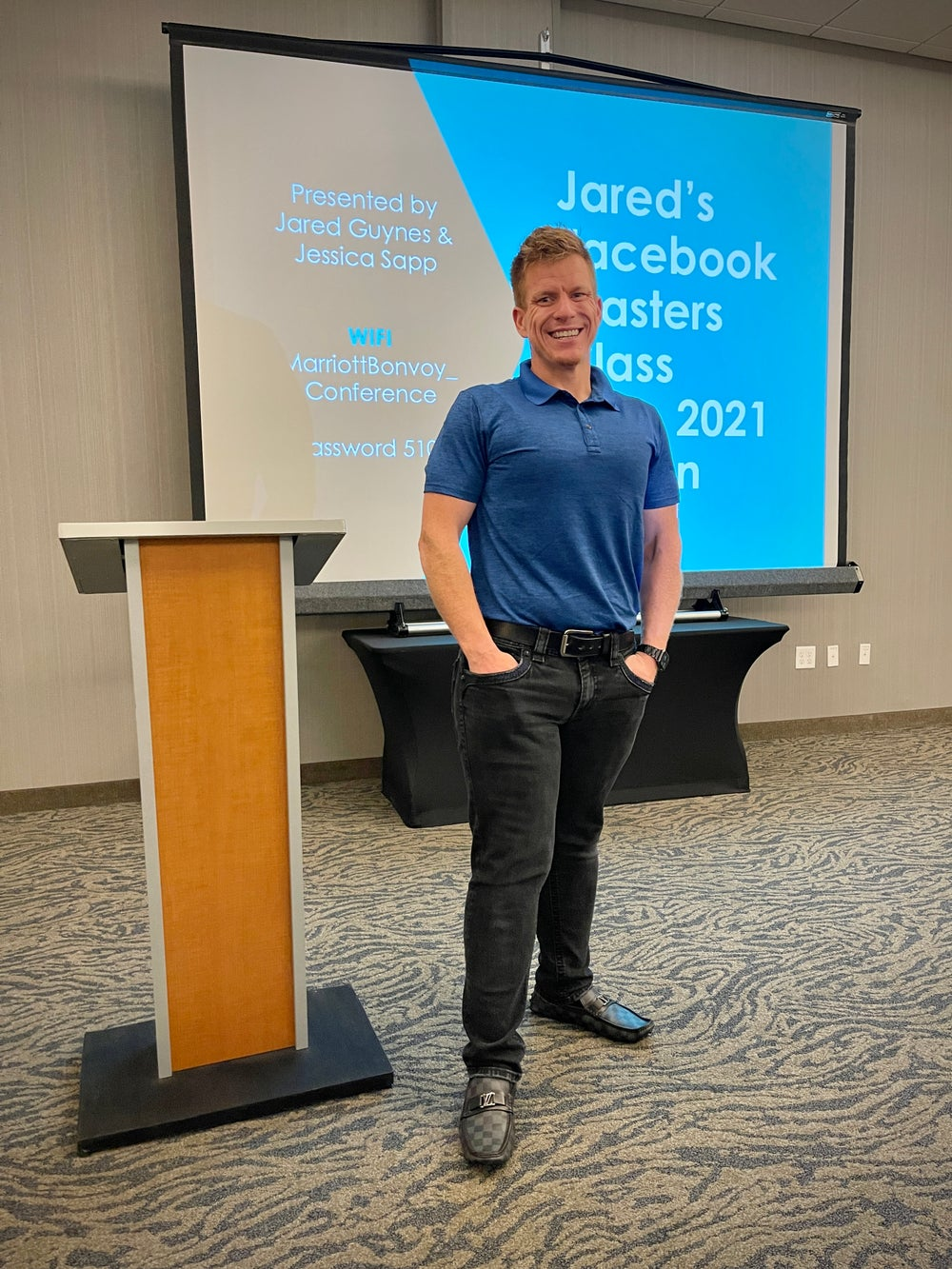Image of Jared's New Facebook Masters Class 9/11/21 9am