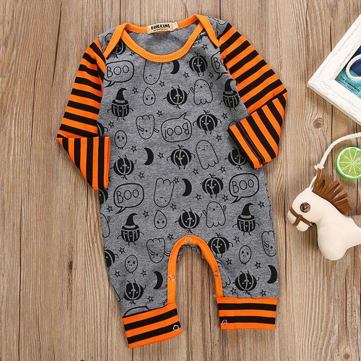 """Image of """" Spooky Cool"""" Romper"""