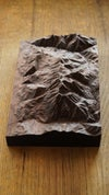 Mount Timpanogos Wooden Relief 3D Map   Topographic Map   Housewarming Gift