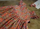 Image 1 of Robe liberty betsy fluo thé volants aux manches