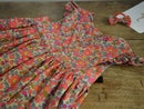Image 2 of Robe liberty betsy fluo thé volants aux manches