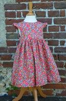 Image 4 of Robe liberty betsy fluo thé volants aux manches