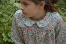 Image 3 of Blouse liberty betsy porcelaine col claudine