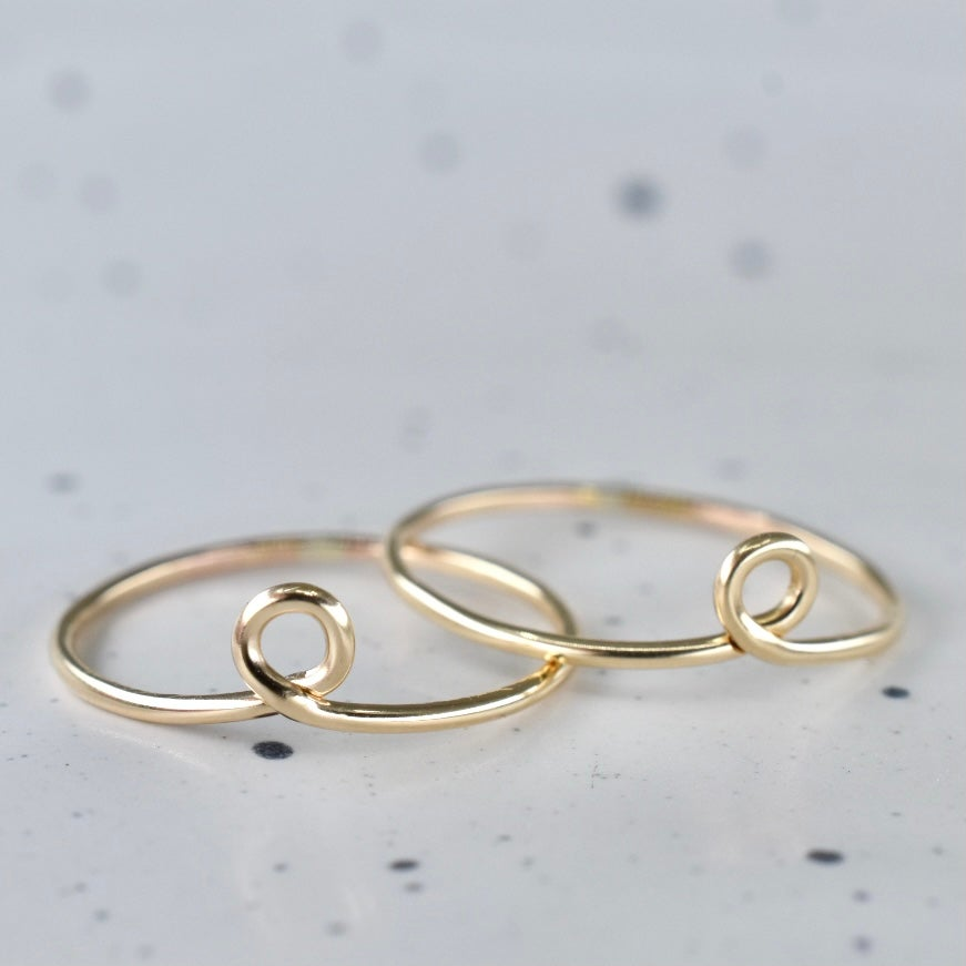 Image of Gold Filled Loop Ring