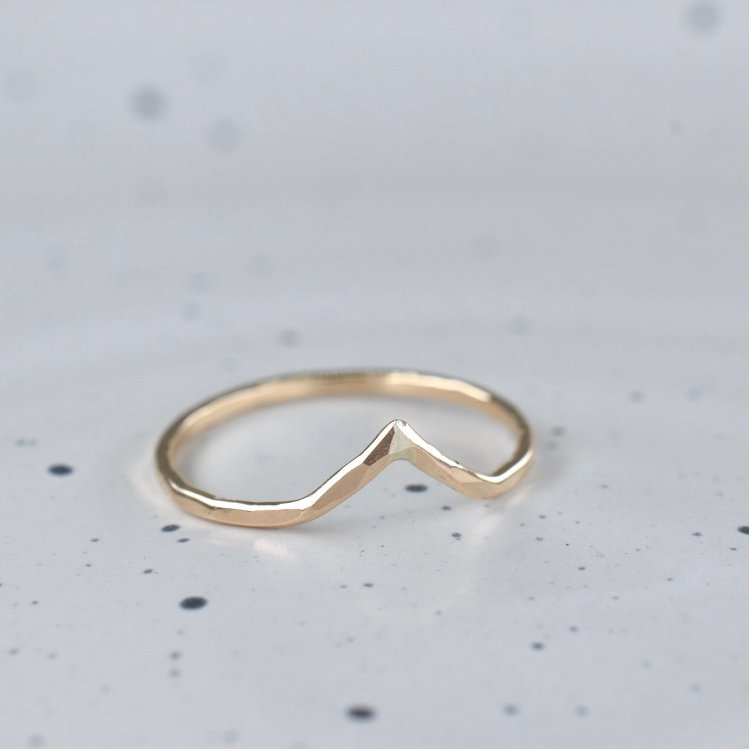 Image of Pointer Ring Gold Filled