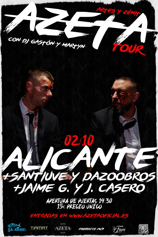 Image of ENTRADA AZETA TOUR ALICANTE