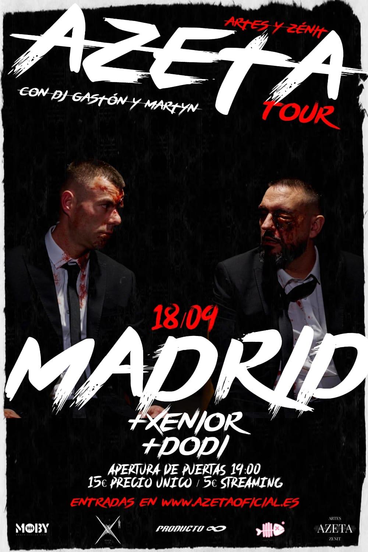 Image of ENTRADA AZETA TOUR MADRID