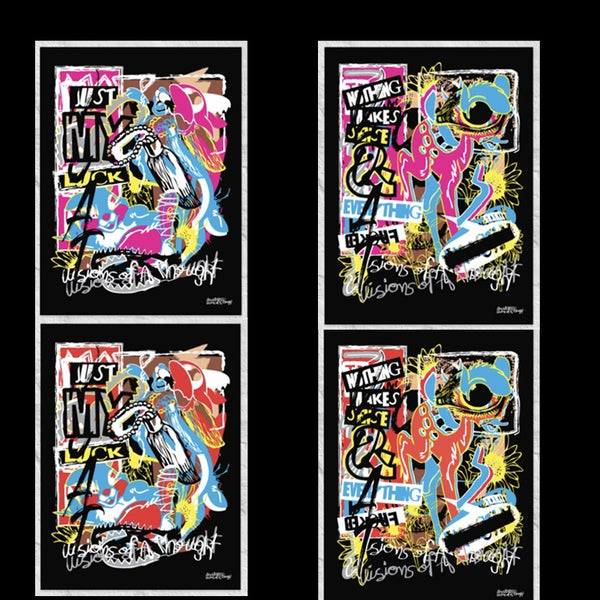 Image of CRAOTIC/SERIES/FULL/PRINT/COLLECTION