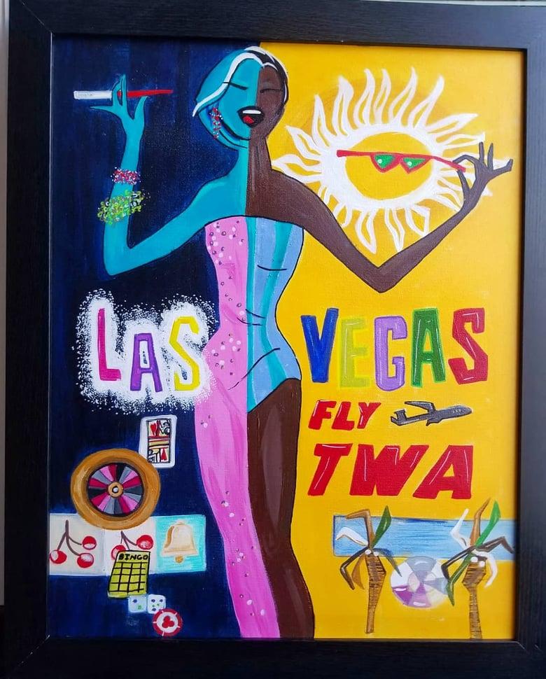 Image of TWA Vintage Travel Ad