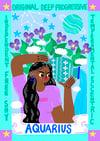 Aquarius A4 Print