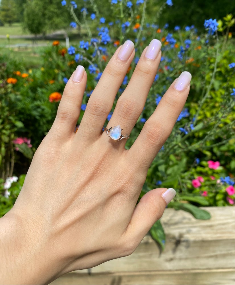 Image of Moonstone ring size 7