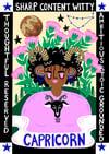 Capricorn A4 Print