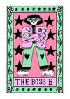 The Boss B A6 Postcard Print