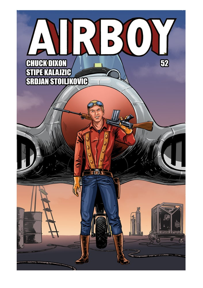 Image of AIRBOY #52 (Standard Cover)