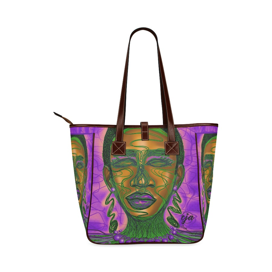 Image of Perplexed Luxury Tote Bag