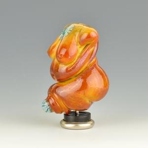 Image of XXL. Ghee Mother Goddess - Flamework Glass Sculpture