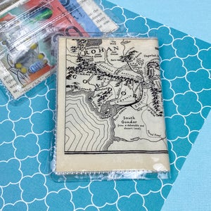 Image of Mordor Map, Lord of the Rings Card Wallet