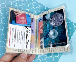 Image of A Mad Tea Party, Alice in Wonderland Card Wallet