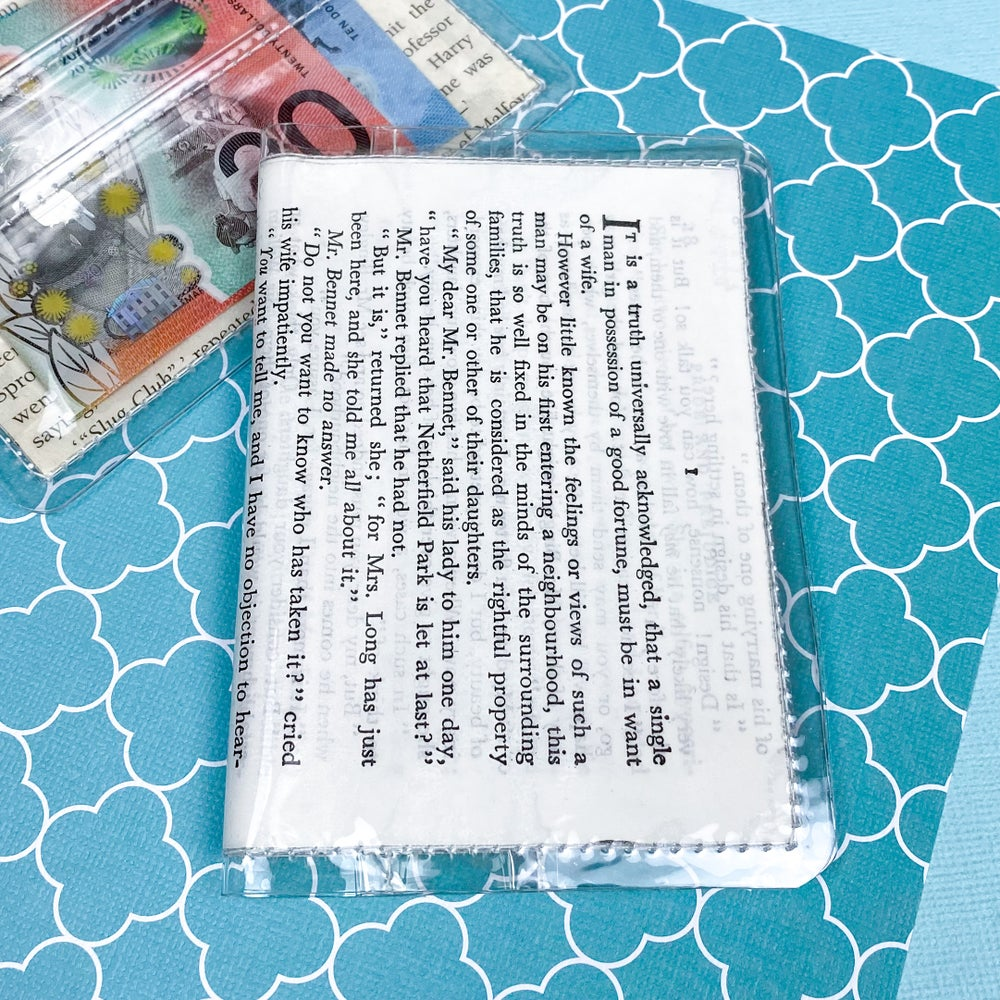 Image of 'It is a truth universally acknowledged…' Pride and Prejudice Card Wallet