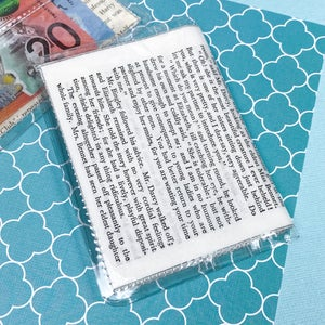 Image of 'She is tolerable, but not handsome enough to tempt me…' Pride and Prejudice Card Wallet