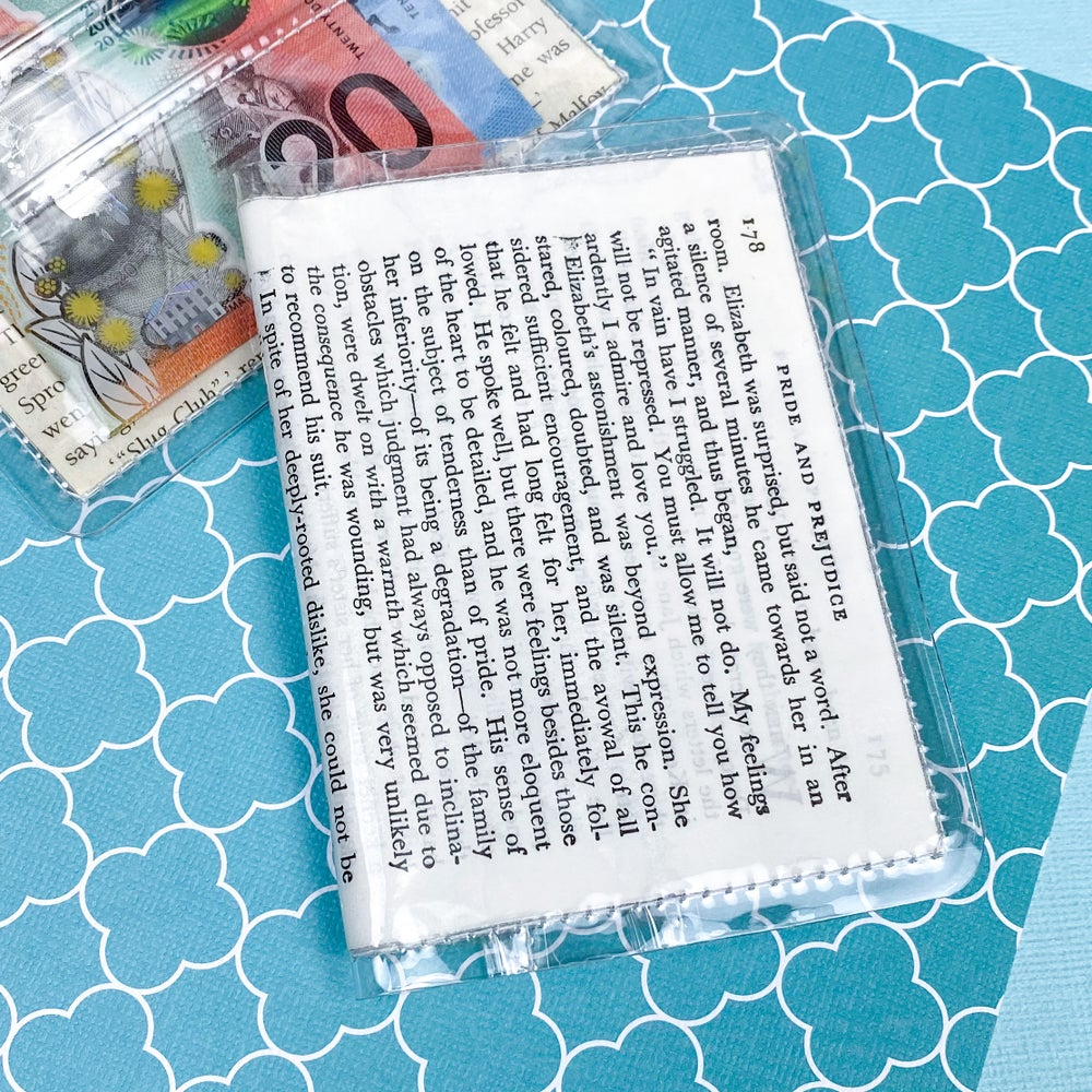Image of Mr Darcy's Confession, Pride and Prejudice Card Wallet