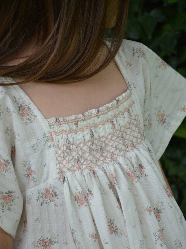 Image of Robe paysanne romantique